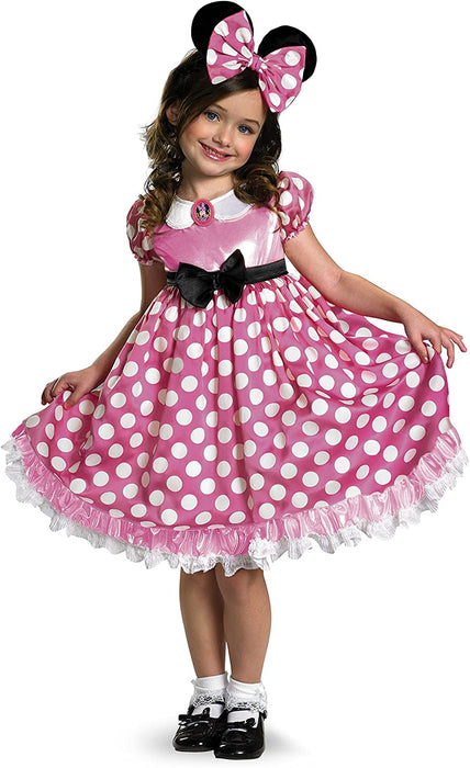 MINNIE MOUSE CHILD COSTUME PINK