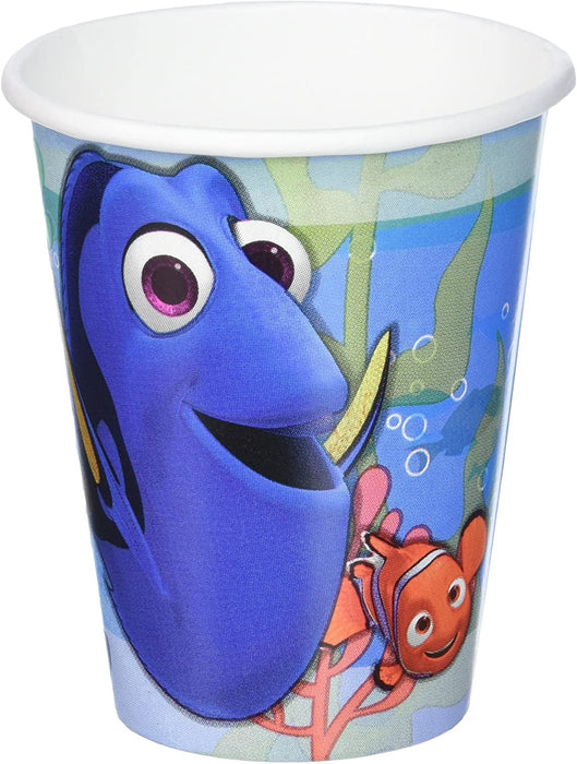 9OZ FINDING DORY PAPER CUPS
