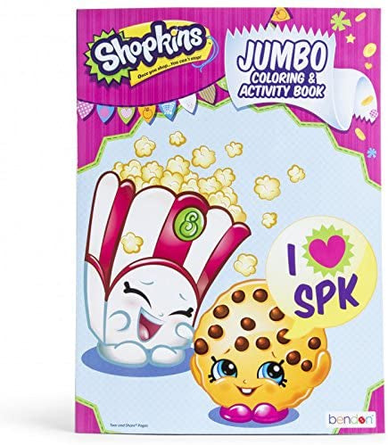 SHOPKINS JUMBO COLORING AND ACTIVITY BOOK