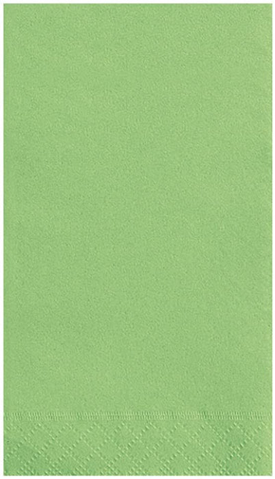 LIME GREEN GUEST NAPKINS 20CT