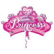 "32"" HAPPY BIRTHDAY PRINCESS FOIL BALLOON"