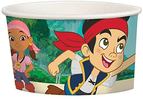 JAKE AND THE NEVERLAND PIRATES TREAT CUPS