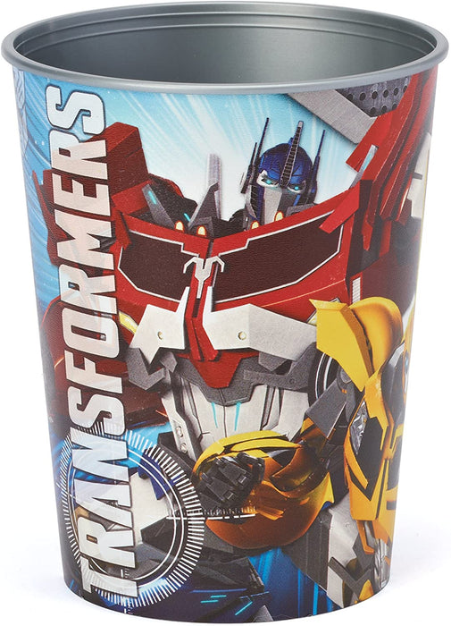 TRANSFORMERS PLASTIC  FAVOR CUP