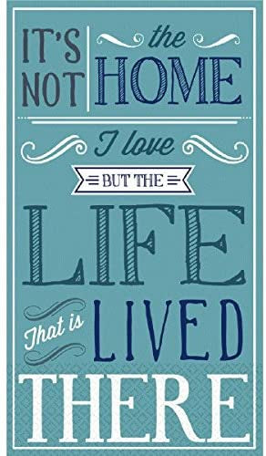 """ LOVING  LIFE "" GUEST NAPKINS 16CT"