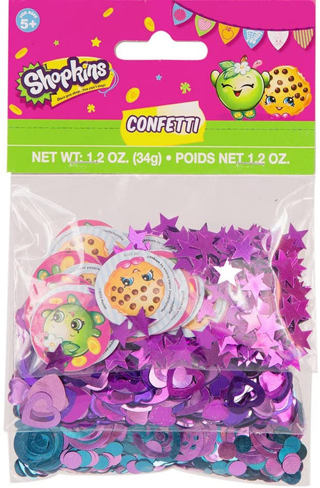 SHOPKINS CONFETTI 1.2OZ