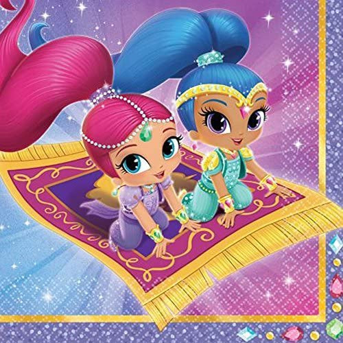 SHIMMER AND SHINE LUNCH NAPKINS 16CT
