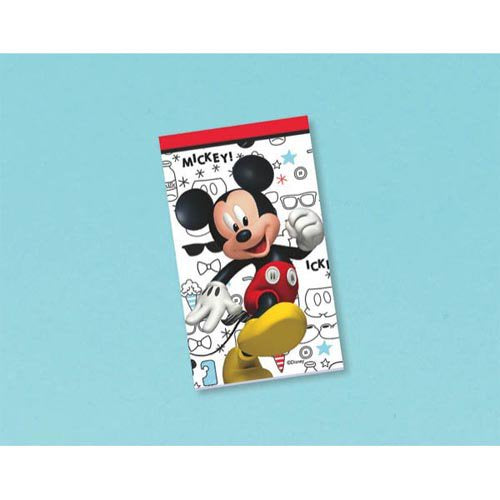 MICKEY MOUSE ON THE GO NOTEPAD