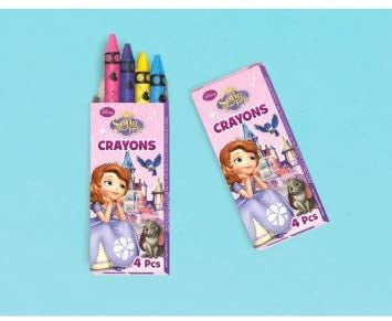 SOFIA THE FIRST BOX OF CRAYONS