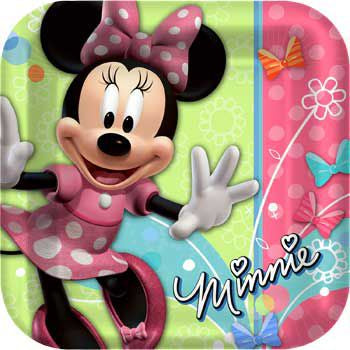 "9"" MINNIE MOUSE PLATES"