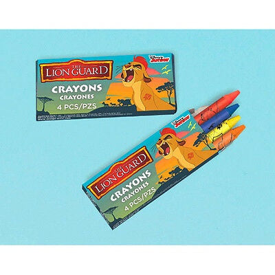 THE LION GUARD CRAYONS 12CT