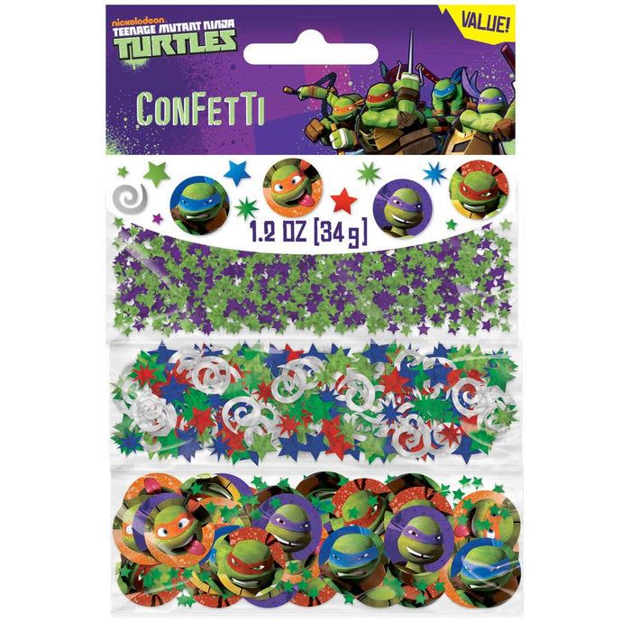 TEENAGE NINJA TURTLES CONFETTI 1.2OZ