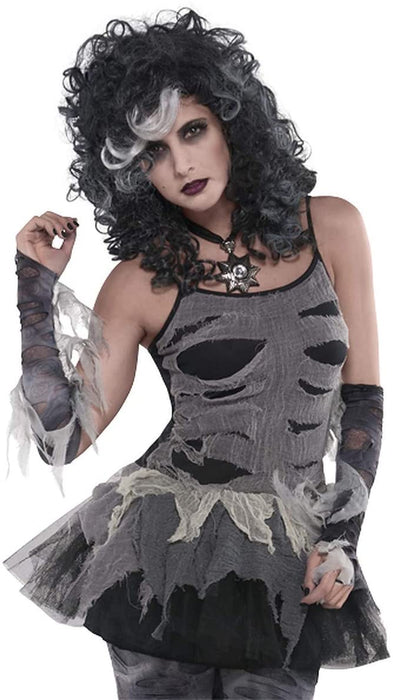 PETTICOAT ZOMBIE ADULT DRESS