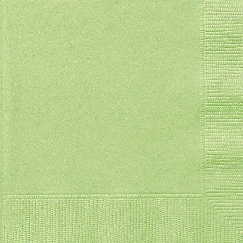 APPLE GREEN LUNCH NAPKINS 20CT