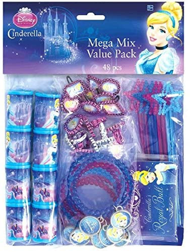 CINDERELLA MEGA MIX VALUE PACK 48PCS