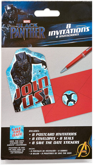 BLACK PANTHER INVITATIONS