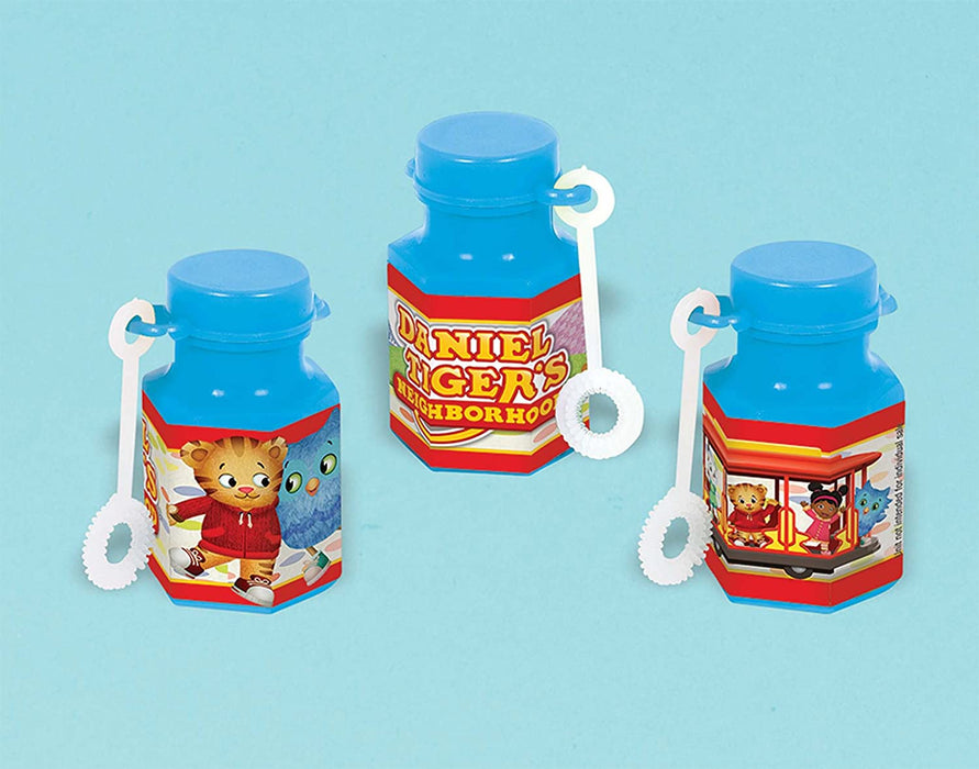 DANIEL TIGER'S MINI BUBBLES 12CT