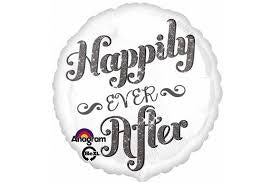 "17"" HAPPILY EVER AFTER FOIL BALLOON"