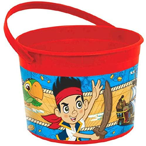 JAKE AND THE NEVERLAND PIRATES FAVOR CONTAINER
