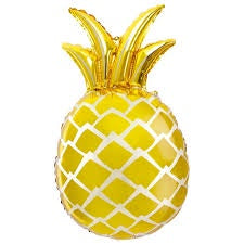 "44"" GOLDEN PINEAPPLE FOIL BALLOON"