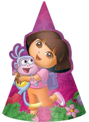 DORA THE EXPLORER  PARTY HATS