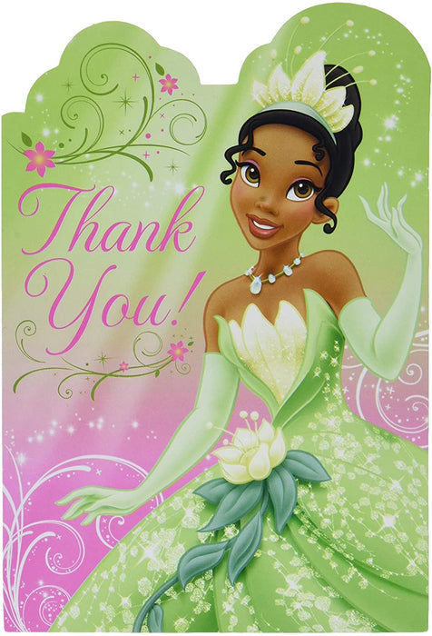 TIANA ENCHANTED THANK YOU CARDS 8CT