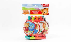 DANIEL TIGER BLOWOUTS 8PCS