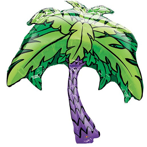 "33"" TROPICAL PALM TREE SUPER SHAPE FOIL BALLOON"