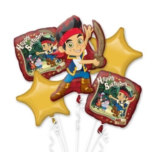 JAKE AND THE NEVER LAND PIRATES BALLOON BOUQUET