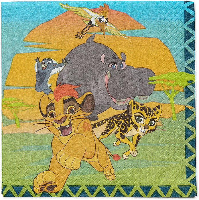 THE LION GUARD LUNCH NAPKINS