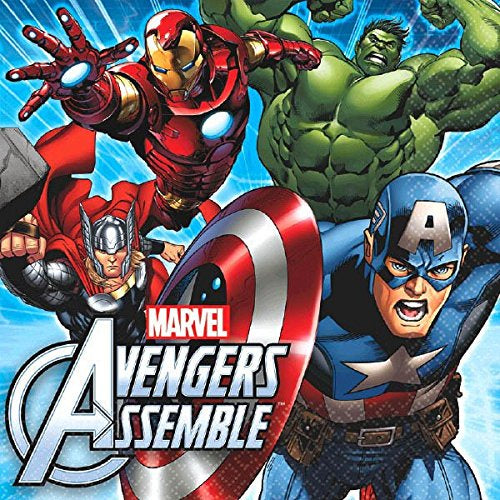AVENGERS ASSEMBLE LUNCH NAPKINS 16CT