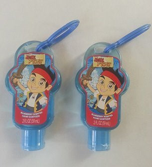 JAKE AND THE NEVERLAND PIRATES HAND SANITIZER