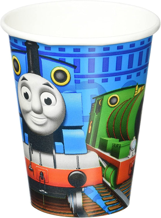 9OZ THOMAS AND FRIENDS PAPER CUP 8CT