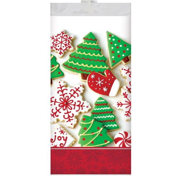 HOLIDAY TREATS PLASTIC TABLE COVER
