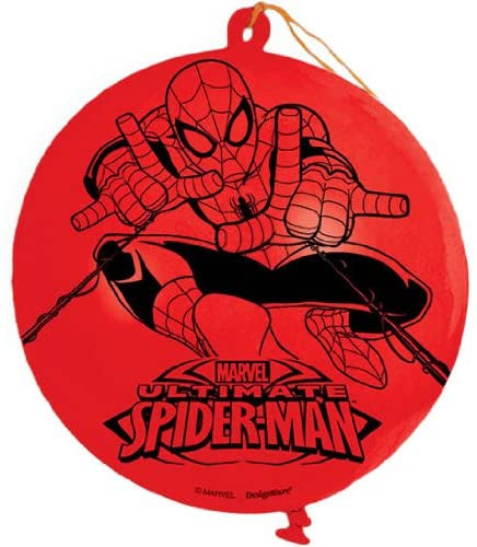 "16"" SPIDER MAN LATEX PUNCH BALLOON"