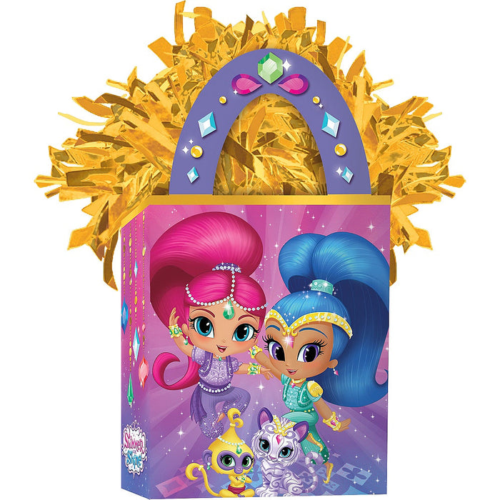 SHIMMER AND SHINE BALLOON WEIGHT