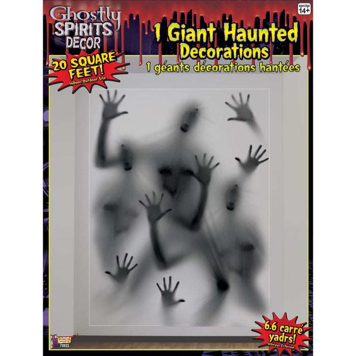 GHOSTLY SPIRITS HANDS GIAINT HAUNTED DECORATION