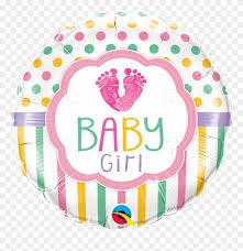 "18"" PASTEL BABY GIRL FOIL BALLOON"