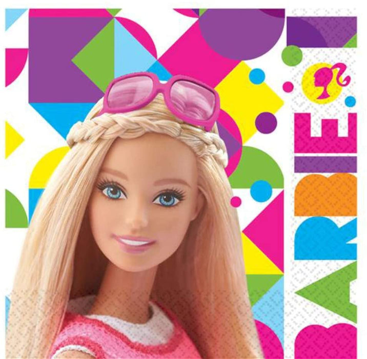 BARBIE SPARKLE COLLECTION LUNCH NAPKINS