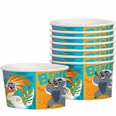8CT THE LION GUARD TREAT CUPS