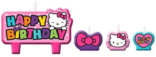 HELLO KITTY BIRTHDAY CANDLES SET