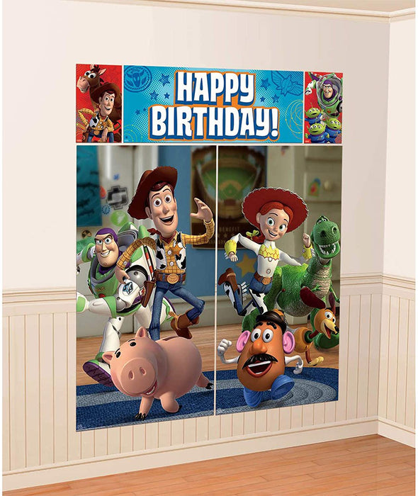 TOY STORY SCENE SETTER WALL DECORATING KIT