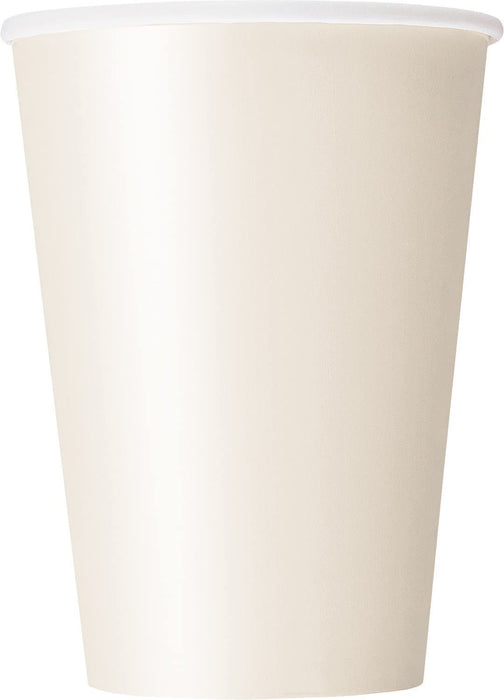 12OZ IVORY PAPER CUPS 10CT