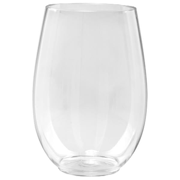4 oz CLEAR PLASTIC STEMLESS SHOT GLASSES