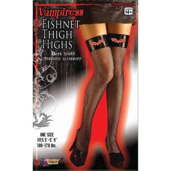 VAMPIRESS THIGH HIGH FISHNETS