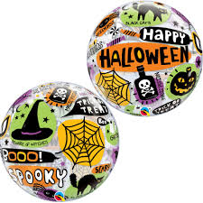 "22"" BUBBLE HAPPY HALLOWEEN MESSAGE"