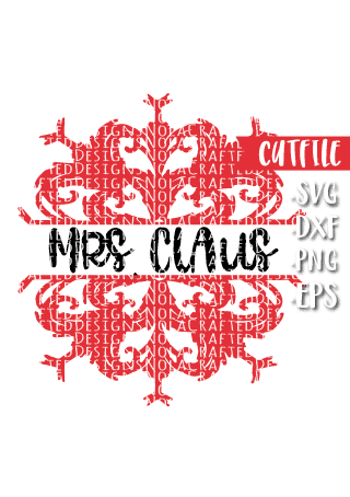 Snowflake Name Plate Svg Cutfile Nola Crafted Designs