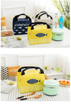 Cute Fish Design Insulated Lunch Bag