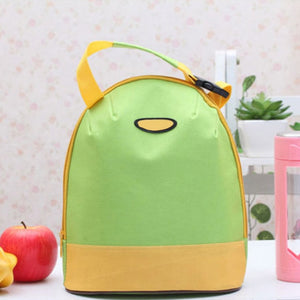 Bright Modern Insulated Canvas Lunch Bag