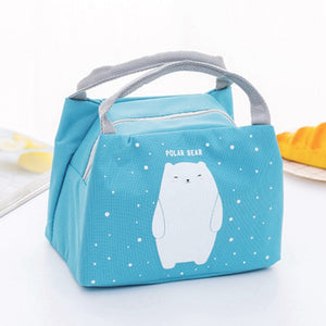 Animal Insulated Kids Lunch Bag