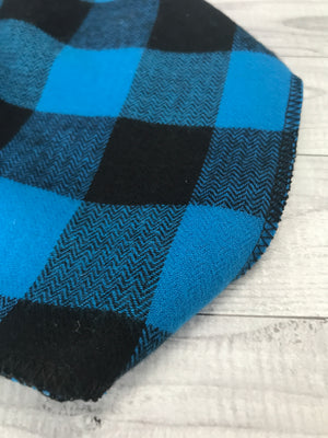 Blue Buffalo Flannel Bandana